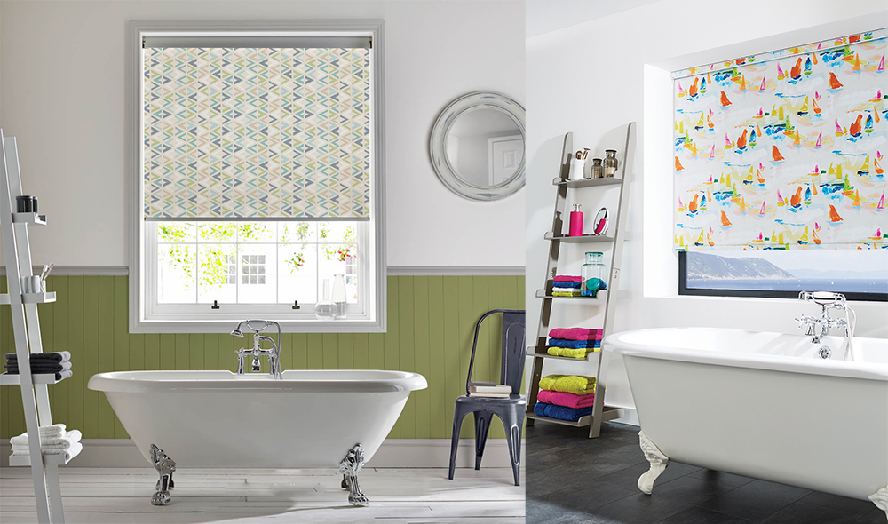 Are Roller Blinds Suitable for Bathrooms?