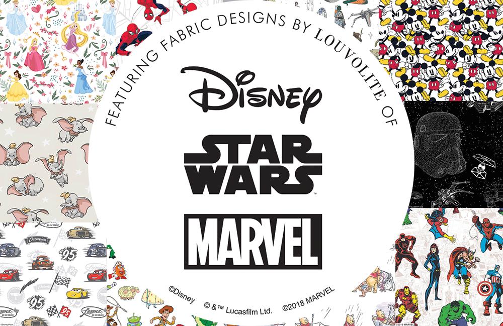 Disney & Louvolite – New Fabrics