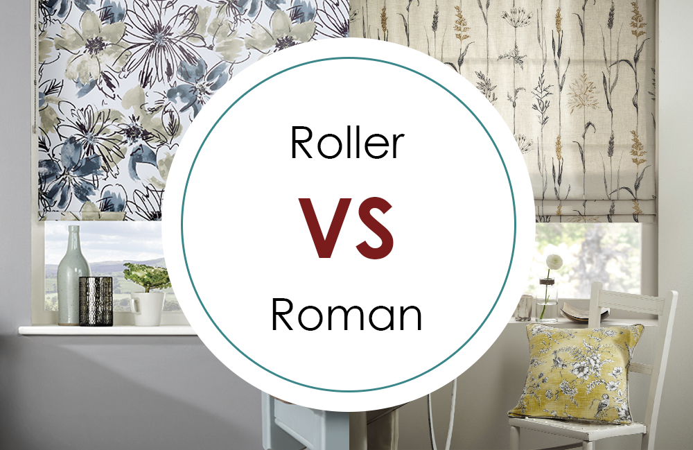 Should I Choose Roller Blinds or Roman Blinds?