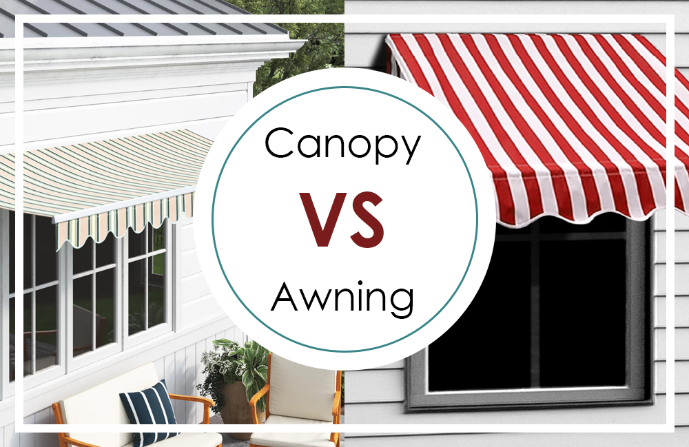 What's The Difference Between An Awning And A Canopy?