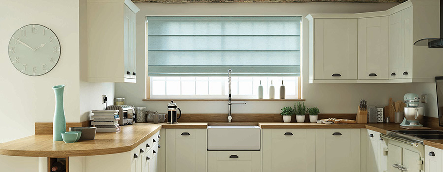 Roman Blinds for Kitchens