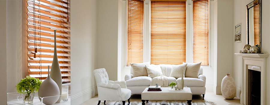 Venetian Blinds that are wooden